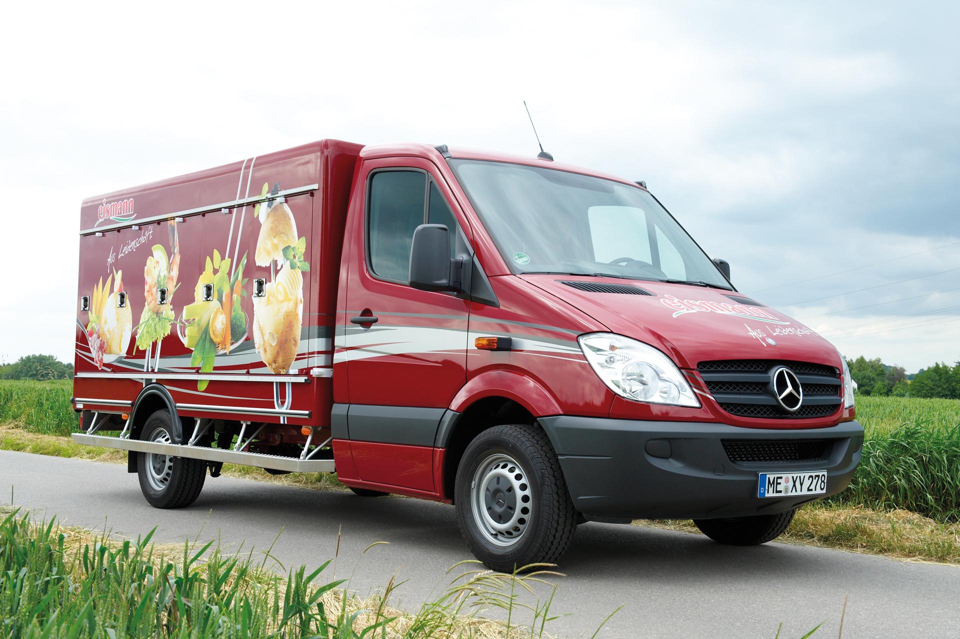 Eismann-bedrijfsauto